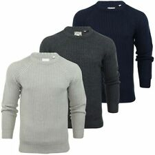 Brave Soul Acrylic Crew Neck Jumpers & Cardigans for Men