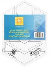 EZ simplicité LONG HEXAGONE modèle Honeycomb Forme Patchwork Quilting BRAND NEW