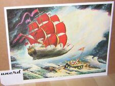 Carl Barks Kunstdruck: Flying Dutchman - Scrooge McDuck, Donald Duck Art Print
