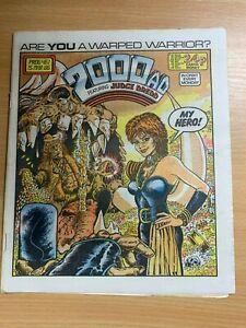 2000AD PROG 461 (15 MARCH 1986) UK LARGE PAPER COMIC - JUDGE DREDD (NEAR MINT)