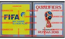 "REAL! FIFA World Cup 2018 Qualifiers Arm Patch ""Real with Application Guide"""