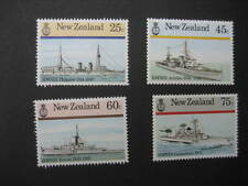 NEW ZEALAND 1985  NAVAL HISTORY SET NHM SG 1379/82