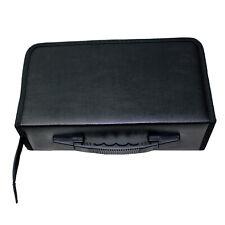 128 Discs Portable CD DVD Wallet Holder Bag Case Album Organizer Media Storage