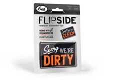 Flip Side Reversible Dishwasher Sign