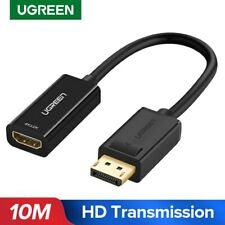 Display Port DP to HDMI MALE to MALE LCD PC HD TV KABEL ADAPTOR 1.8m L2KS