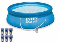 "Intex 15' x 48"" Easy Set Swimming Pool Kit w/ 1000 GPH GFCI Filter Pump  26167EH"