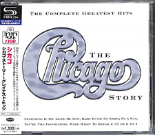 CHICAGO-THE CHICAGO STORY - COMPLETE GREATEST HITS (UK VERSION)-JAPAN SHM-CD C41