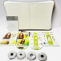 Wii Fit Balance Board - WII FIT Plus & Jillian Michaels Games - TESTED!