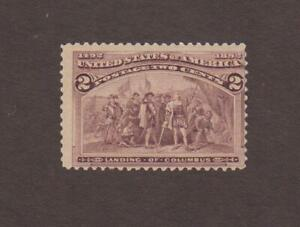 US,231,1893,COLUMBIAN EXPO,MNH, COLLECTION,MINT NH