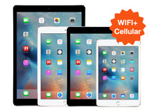 UNLOCKED iPad 2 3 4 5th 6 Air 2 ✤WIFI+LTE✤ 16GB 32GB 64GB 128GB Black White Gold