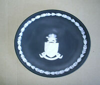 Wedgwood Jasperware Black Cayman Islands Plate UNPRINTED