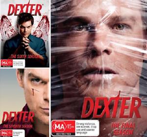 DEXTER Season 6 7 8 : NEW DVD