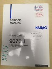 Nanao Service Manual for the Flexscan 9070U Scanning Data Display  mp