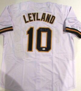 Jim Leyland (Pittsburgh Pirates) signed Jersey  (JSA COA)