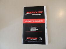 2011 Mercury 75 80 90 100 115 hp EFI owner s manual Betriebs anleitung Handbuch