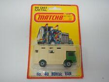 Matchbox SuperFast Horse Van No. 40