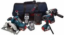 Bosch Industrial Power Tool Combo Kits and Packs