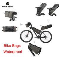 Rockbros Cycling Bicycle Bike Bag Touring Bags Free Combine Cycling Equipment