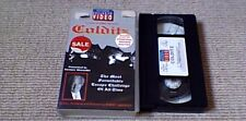 COLDITZ UK VHS PAL WH SMITH EXCLUSIVE VIDEO 1993 TERENCE ALEXANDER w/ ESCAPE MAP