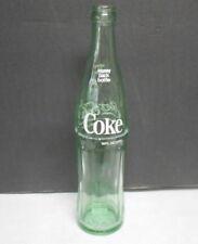Coca Cola Money Back Returnable Green Glass Pop Top Soda Bottle Greenville SC.