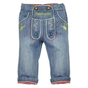 90718 Bondi Jungen Trachten Hose Jeans Gipfelkraxler NEU Gr. 62 68 74 80 86 92