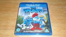 *NEW* The Smurfs [Blu-ray+DVD][2011][Region Free]