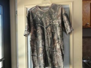 Realtree Outfitters tee shirt ss camo lrg unisex pre owned