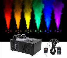 Chauvet DJ Geyser T6 Fog Machine Fogger, LED RGB Pyrotechnic Light Effect+Remote