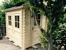 Log Cabin 2 meter by 1.5 meter, double glazed felt shingles we can make any size