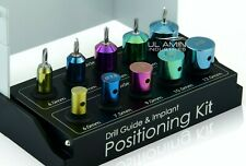 NEW Dental Drill Guide and Implant Positioning Kit Titanium Guided Surgery Pins