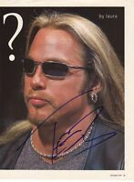 WWE WWF TEST AUTOGRAPHED HAND SIGNED 8X10 PHOTO WRESTLING PICTURE