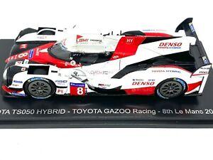 1:43 scale Spark Toyota Gazoo Racing TS050 Le Mans Sports Car - S Buemi 2017