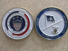 Challenge Coin US Coast Guard Chief of Staff Shield of Freedom coin