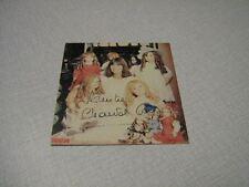 CHANTAL GOYA CARTE PROMO 1978 DEDICACEE