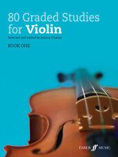 80 classés Studies for Violin Book 1 Violon Partitions Study Score