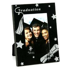 "Photo Frame - GRADUATION Contemporary Black + Glitter (4"" x 6"" Photo) *NEW*"