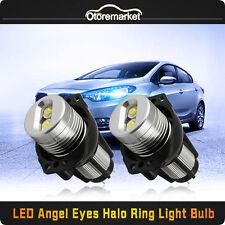 20W CREE LED Angel Eyes Halo Ring Marker Ultra Bright For BMW E90 E91 No Error