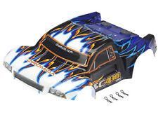 Dromida DIDC1097 SC4.18BL Karosserie fertig lackiert und beklebt blau weiss schw