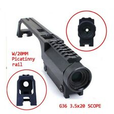 Tactical G36 3.5X20 Scope With Top 20mm Picatinny Rail Carry
