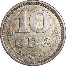 Denmark 10 Ore 1916 VBP GJ KM#818.1 - Christian X (2969)