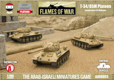 Flames of War T34/85M Platoon Arab Six-day War Miniatures AARBX03