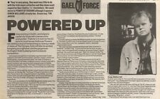 2/6/90Pgn13 Article & Picture(s) powered Up By The Irish Youngsters Power Of Dre