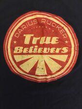 Darius Rucker True Believers Tour 2013 T Shirt Navy Blue Size XL