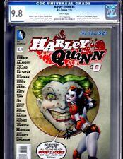 Harley Quinn 0 Conner Variant CGC 9.8 2014