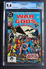 WAR OF THE GODS #1 WONDER WOMAN vs CIRCE 1st Modern 1991 Movie JLA PEREZ CGC 9.4
