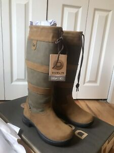 Dublin River Boots III size 10 Wide Brand New With Box Women's