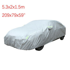 """Outdoor Car Cover Sedan Cover Waterproof UV Sun Snow All Weather Protection 209"""""""