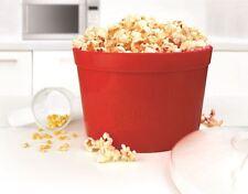Calor ' N ' comer Microondas Popcorn Maker Caseros Cocina Retro De Gadget De Regalo