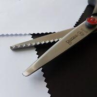 Fabric Dressmaking Pinking Shears Zig Zag Cut Scissors 8 and 1/2 inch - QUALITY!