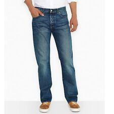 Levi's Herren 501 Regular Fit Jeans blau 34w X 36l